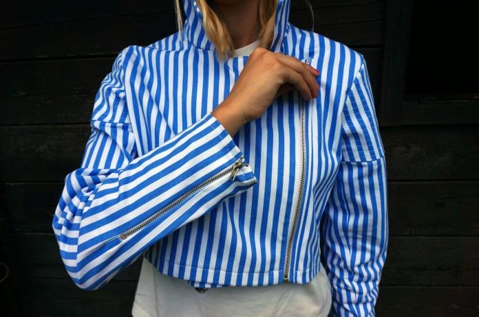 Particolare manica giacchetto