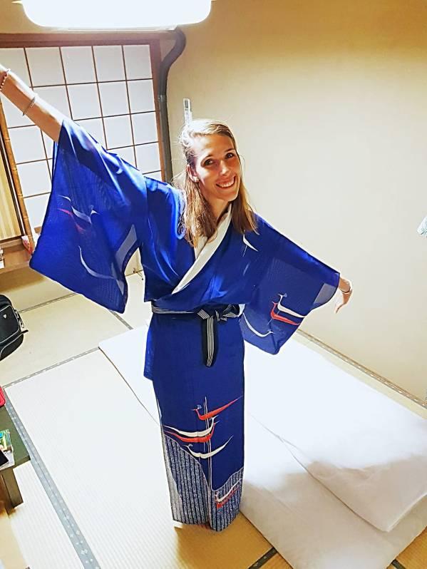 Kimono in poliestere